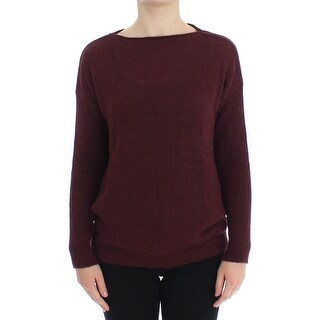 Dolce & Gabbana Dolce & Gabbana Bordeaux Knitted Pullover Sweater Top