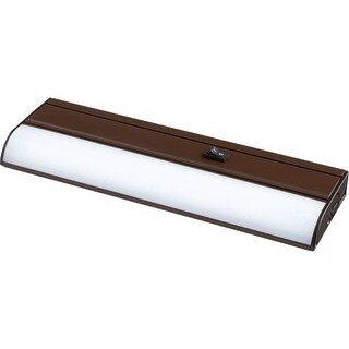 "Quorum International 93312 Single Light Integrated LED 12"" Under Cabinet Light Bar"