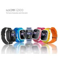 TechComm G900 Kids Smart Watch for T-Mobile ONLY with Fitness Tracker, GPS and Geofencing