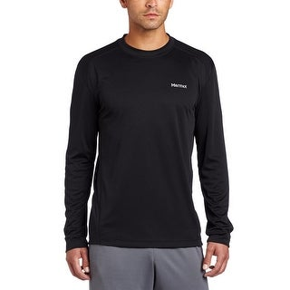 Marmot Men's Windridge Long Sleeve Tee - Black