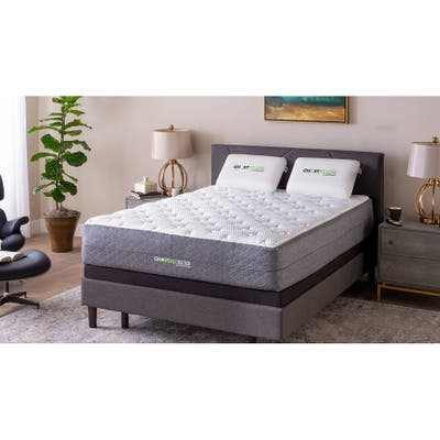 GhostBed Luxe 13 inch Cool Gel Memory Foam Mattress in the Box- Made in USA