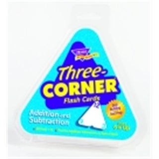 Three Corner Addition And Subtraction Double Sided Triangle Flash