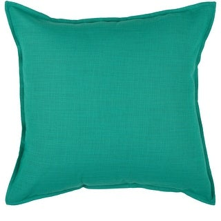 Link to Rizzy Home Cotton Solid 20-inch Throw Pillow Similar Items in Decorative Pillows