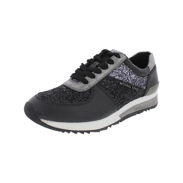 e6a41869d8aa Shop MICHAEL Michael Kors Womens Allie Fashion Sneakers Leather ...