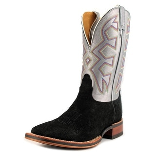 Nocona MD5200 Men Square Toe Leather Gray Western Boot