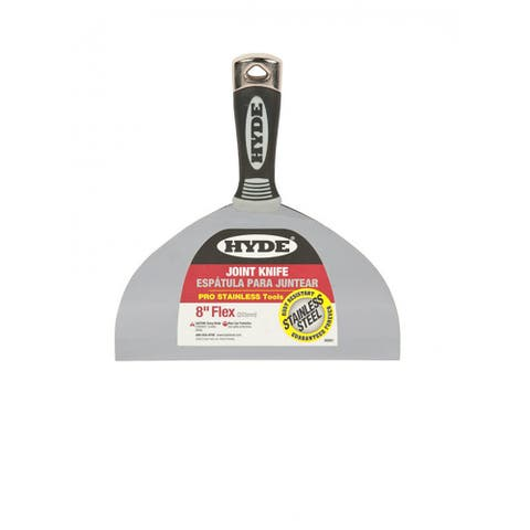 """Hyde 06881 Flexible Pro Stainless Joint Knife, 8"""""""