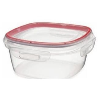 Newell Rubbermaid 1778068 Lock-its Square Container, 5 Cup
