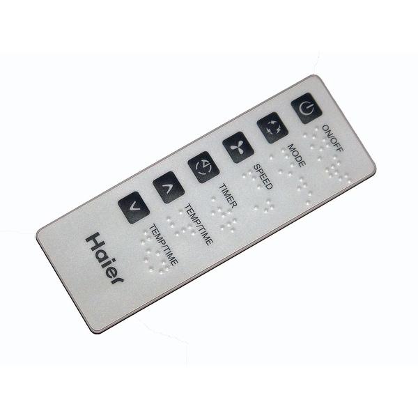 OEM Haier Remote Control Originally Shipped With: ACB08JE, EAS405p, ESA405L, ESA408J, ESA408M