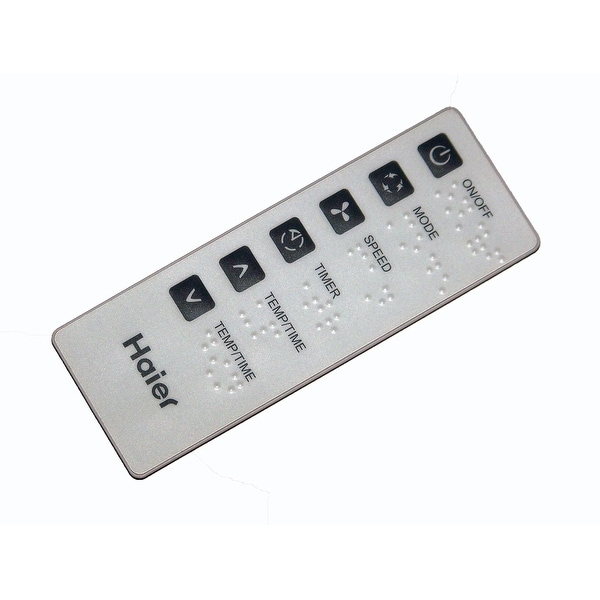 OEM Haier Remote Control Originally Shipped With: HWR05XCM
