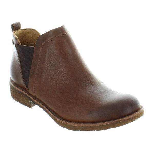 Sofft Womens Bergamo Leather Closed Toe Ankle Fashion Boots