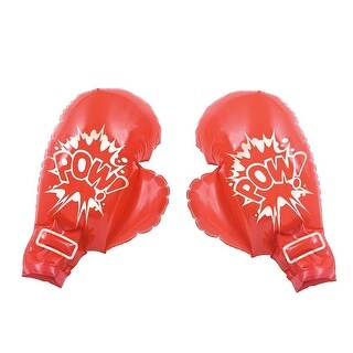 Jumbo Play Soft Touch Boxing Gloves, Red