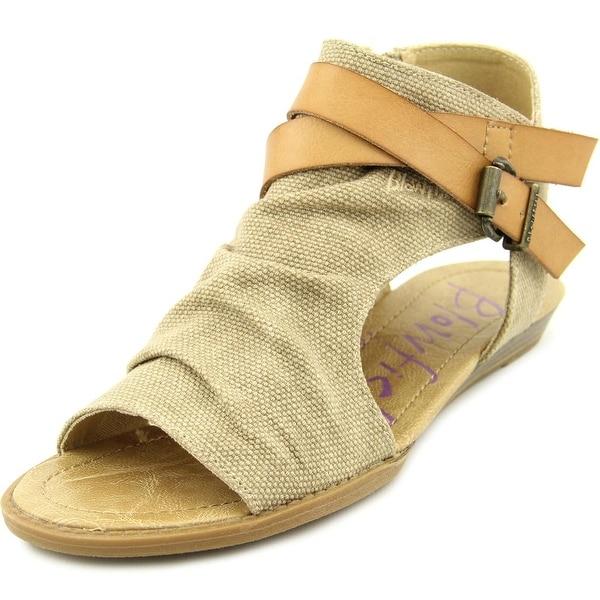 87c18be7bfc7 Shop Blowfish Balla Women Open Toe Canvas Tan Gladiator Sandal ...