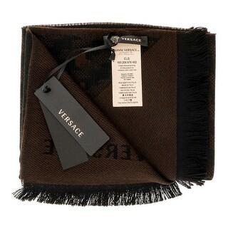 Versace IT00637 100% Wool Mens Scarf