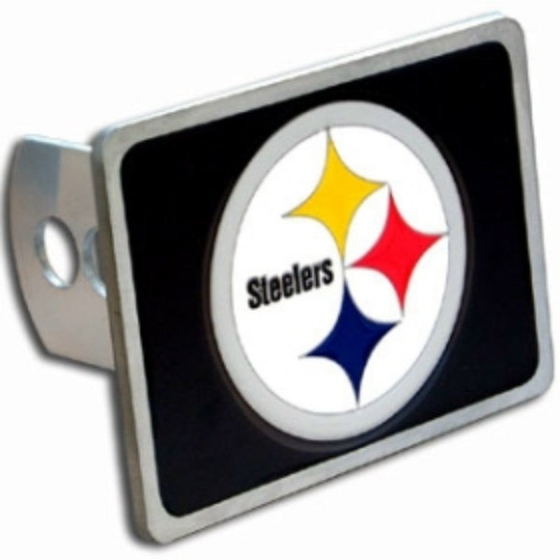 Siskiyou Pittsburgh Steelers Logo Trailer Hitch Cover