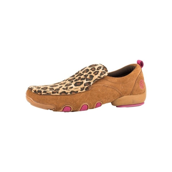Roper Western Shoes Womens Cheetah Moc Bailey