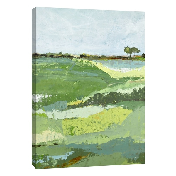"PTM Images 9-108505 PTM Canvas Collection 10"" x 8"" - ""Open Spaces 3"" Giclee Rural Art Print on Canvas"
