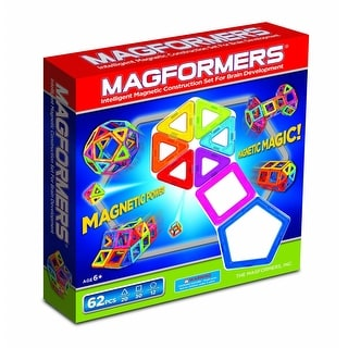 Magformers Magnetic 62 Piece Set
