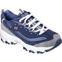 Skechers Women's D'Lites New Journey Sneaker Navy/Gray