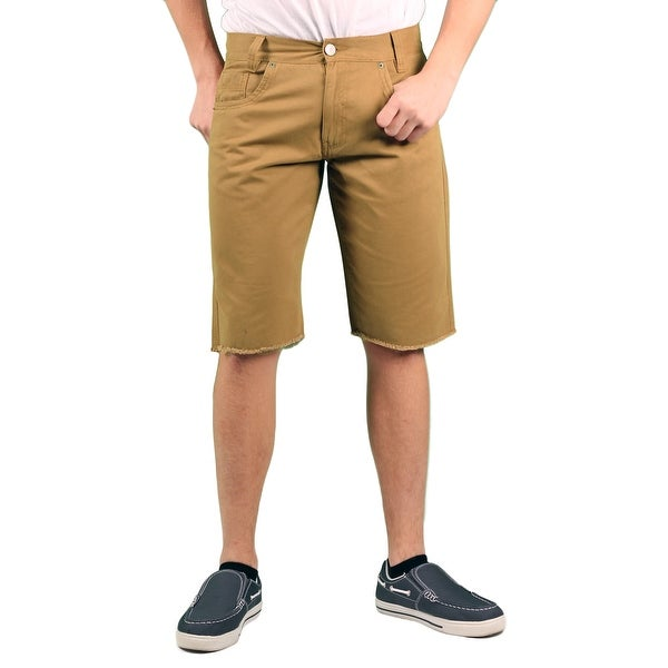 Enyce Young Men's 'Valentino' Twill Cut-Off Short