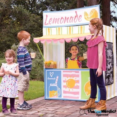 Deluxe Lemonade Stand Playhouse by Role Play