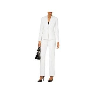 Le Suit Womens Pant Suit One-Button Blazer Dress Pant - 16
