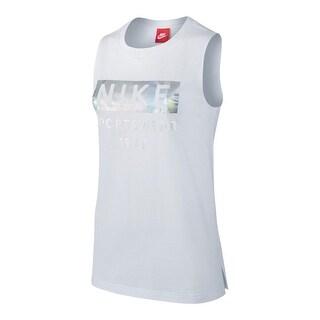 Nike Womens Muscle Tank Hologram Logo