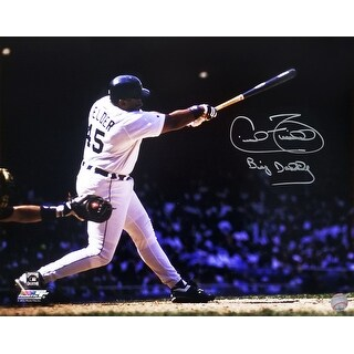 Cecil Fielder Detroit Tigers Swinging Action 16x20 Photo WBig Daddy