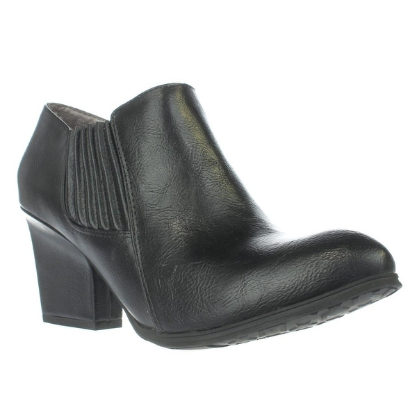 LifeStride Whimzy Pull On Ankle Boots, Black Dusty - 9 us / 39 eu