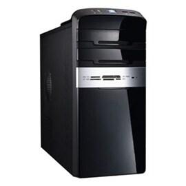 Winsis Case WN-47 microATX Mini Tower 2/0/(1) Card Reader USB 350W P/S Black Silver