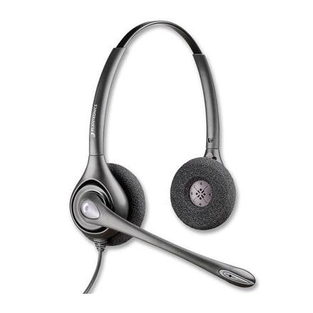 Plantronics SupraPlusHW261N Double Earpiece Headset w/ Noise Cancelling