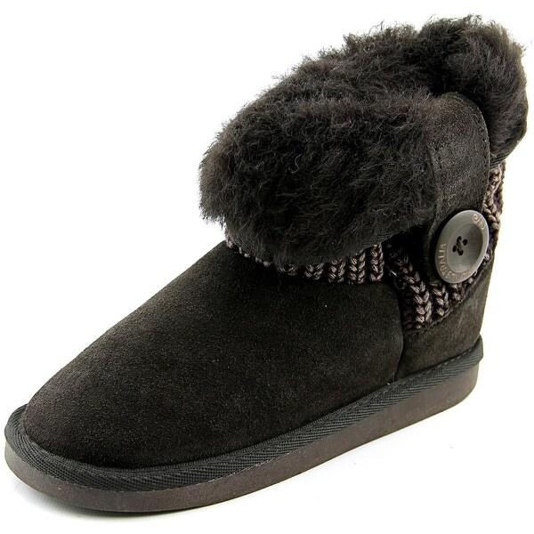Emu Australia Kids Audrey Lo Women Chocolate/Chocoloate Snow Boots