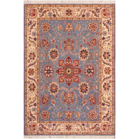 """Bohemien Ziegler Maurice Hand Knotted Area Rug -6'9"""" x 10'2"""" - 6 ft. 9 in. X 10 ft. 2 in."""