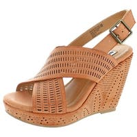 Not Rated Leafy Women's Slingback Wedge Sandal