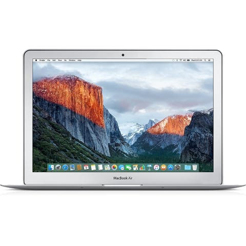 Apple MacBook Air MJVG2LL/A Intel Core i5-5250U X2 1.6GHz 8GB 256GB SSD, Silver (Scratch and Dent)
