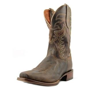 Dan Post Duncan Men Round Toe Leather Brown Western Boot