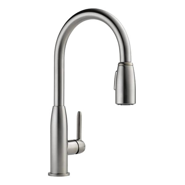 Shop Peerless P188103lf Pull Down Kitchen Faucet With Two Function