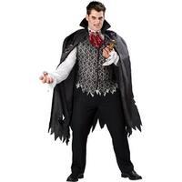Vampire B Slayed Costume Adult Plus - Black