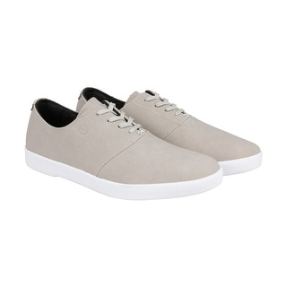 Huf Gillette Mens Beige Leather Lace Up Sneakers Shoes