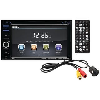 "BOSS AUDIO BVB9364RC 6.2"" Double-DIN In-Dash DVD/MP3/CD & AM/FM Receiver with Bluetooth(R) & Rear Camera"