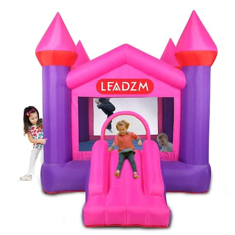 Outdoor Bounce House Slide Jumping Bouncy Castle House with Air Blower for Kids
