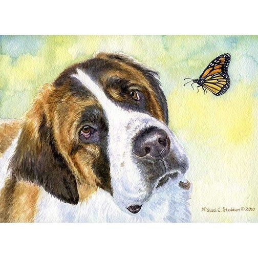 """Saint Bernard Discovery"" A Limited Edition Print"