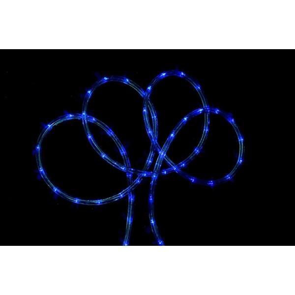 102' Blue Indoor/Outdoor Christmas Rope Lights
