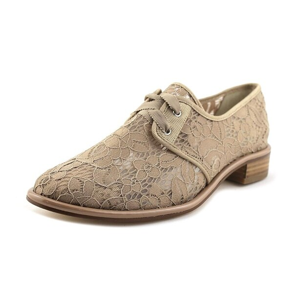 Adrianna Papell Paisley Women Round Toe Synthetic Nude Oxford