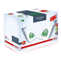 Miele Performance Pack 16 Type U AirClean 3D Efficiency FilterBags + HA30 HEPA Filter