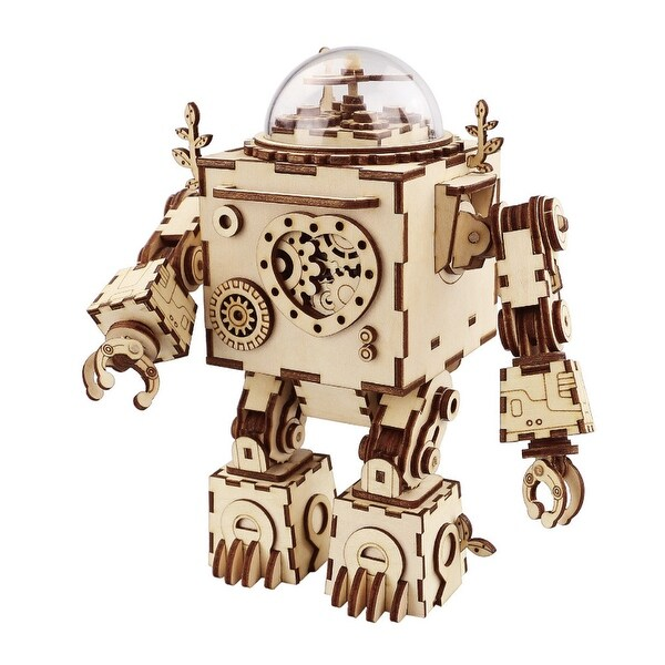AM601 ROKR Orpheus DIY Steampunk Music Box for Kids and Adults. Opens flyout.