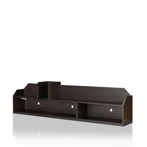 Furniture of America Paulo Contemporary Wall-mounted Media Console
