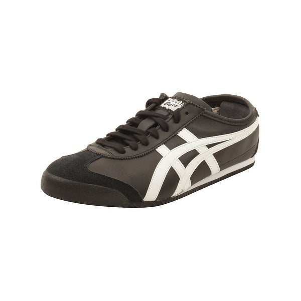 buy popular a2cd0 22e8f Shop Onitsuka Tiger by Asics Mexico 66 Sneakers in Black ...