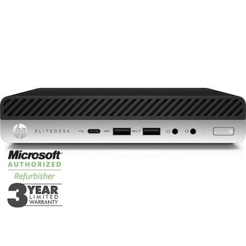 HP EliteDesk 800 G4 Mini Intel Core i5-8500T 8GB 256GB SSD 630 W10P