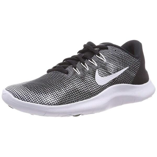 ce9f96c8d8f Shop Nike Mens Flex Rn 2018 Black White Size 8 - Free Shipping Today ...
