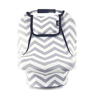 Link to Stretchy Baby Car Seat Covers, Car Canopy for Spring Autumn Winter, Warm Breathable, Zipped Peep Window, Grey White Chevron Similar Items in Mattress Pads